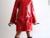 Red Latex Rainjacket
