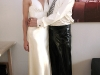 Latex wedding clothes