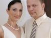 Latex wedding gown